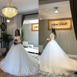 $enCountryForm.capitalKeyWord Australia - Luxury Applique Lace Ball Gown African Wedding Dresses 2019 New For Bride Plus Size Country Robe de Mariage custom MAde