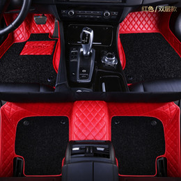 hyundai car parts NZ - LUNDA Car floor mats fit Hyundai newTucson Sonata NF Coupe Azera Verna EVElantra Mistra All New-Santafe Elantra Verna carpet Auto parts