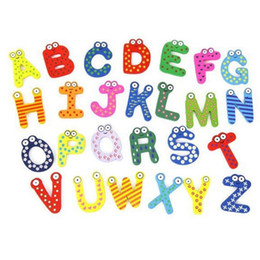 $enCountryForm.capitalKeyWord Australia - Words Fridge magnets 26pcs Set Children Kids Wooden Cartoon Alphabet Education Learning Toys Adult Crafts Home Decorations Gifts LX7558