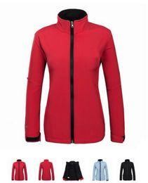 Velvet Tops For Winter Australia - Women outdoor sports composite velvet softshell jackets Coat Top Windbreaker For Spring Autumn Winter Womens Outdoor Fit Hiking Camping