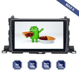 Gps For Toyota Highlander Australia - Android 9.0 Car Radio 2 Din GPS Navi for Toyota Highlander 2014 2015 2016 2017 2018 PX6 DSP IPS Screen 4Gb+64Gb 6-Core RDS WIFI