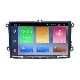 Vw Stereos Android Australia - 9inch Android 8.1 Car Audio Player For Seat Leon 2005 -2011 VW Skoda GPS Navigation 2 Din Car DVD Radio Stereo Player