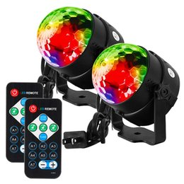 $enCountryForm.capitalKeyWord NZ - Party Lights Disco Ball Strobe Light Disco Lights, 7 Colors Sound Activated with Remote Control Dj Lights Stage Light for Festival -2 Pack