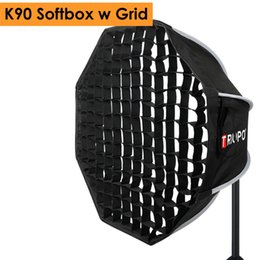 $enCountryForm.capitalKeyWord Australia - hoto Studio Softbox Triopo 90cm Photo Portabe Bowens Mount Softbox w  Honeycomb Grid K90 Octagon Umbrella Outdoor Soft Box for Godox Jinb...