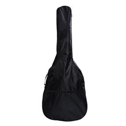 $enCountryForm.capitalKeyWord NZ - 1PCS Black Waterproof 41 Inch Electric Acoustic Guitar Bag Case Bass Carry Shoulder Strap Instrument Bags & Cases