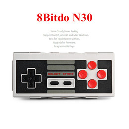ps2 wireless controller freeshipping 2019 - 8Bitdo N30 Wireless Bluetooth Game Controller Dual Classic Joystick Gamepad For Switch Android PC Mac Linux For iPhone G