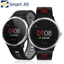$enCountryForm.capitalKeyWord Australia - A9 Smart Watch Bracelets Fitness Tracker Heart Rate Fitbit Monitor Band Wristband Smartwatch PK ID115 PLUS Z60 for iphone Android
