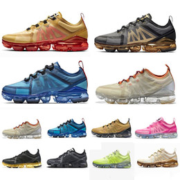 Ladies pink running shoes online shopping - TN Fly Shock Running Shoes Run Utility Fashion Mens ladies Sports Sneakers Womens Pink Golden Black Designer Shoes Trainers Size