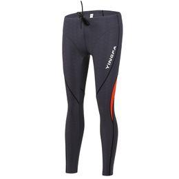 $enCountryForm.capitalKeyWord Australia - Men Sharkskin Like Long Diving Leggings Dive Skin Surfing Basic Pants Swimming Trunks Swimwear Men Jammers Swimming Bathing Suit