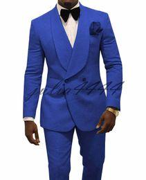 $enCountryForm.capitalKeyWord Australia - 2019 Paisley tuxedos Wool Wedding Suits for Men British Style Shawl Laple Custom Made Mens Suit Slim Fit Blazer(Suit+Pant)