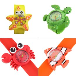 kids watch silicone bands NZ - New style Cute Animal 3D Cartoon Silicone Band Bracelet Children's Wristband Watch Toy Clock For cool Girls Boys Baby Kids Gifts