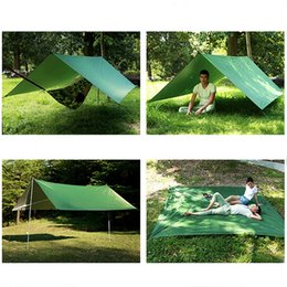 quick beds Canada - Portable Outdoor Camping Hammock With Mosquito Net Parachute Fabric Hammocks Beds Hanging Swing Sleeping Bed Tree Tent