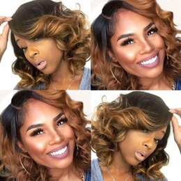 $enCountryForm.capitalKeyWord Australia - New Arrival Ombre Bob Weave 4Pcs Water Wave Bundles Brazilian Human Hair Sew in Extension Natural Wave Hair Weft
