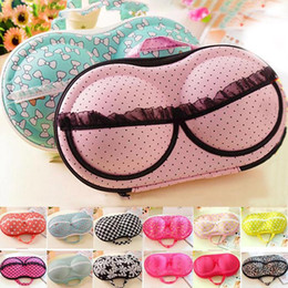 portable gear NZ - Travel Mesh Underwear Bra Storage Box Lingerie Portable Protect Holder Home Cosmetic Organizer Accessories Supplies Gear Stuff Product