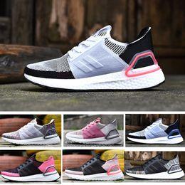 on sale 575ab 1d19e 20119 plus récent ultra 5.0 19 noyau multicolore Triple noir blanc  Primeknit Runner mode Running chaussures de sport pour hommes femmes  Eur36-45