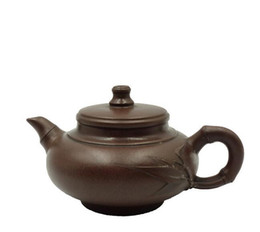 $enCountryForm.capitalKeyWord Australia - Zisha pot handmade boutique household large capacity teapot home collection ore purple clay pot