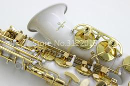 Yanagisawa A-992 Alto Eb Tune Saxophone New White Body Gold Lacquer Key Musical Instrument E Flat Free Shipping Sax on Sale