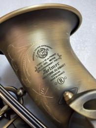 Vintage musical instruments online shopping - High Quality SELMER Mark VI Alto Saxophone Eb Tuning Musical Instrument Sax Vintage Copper Alto New Saxophone Mouthpiece