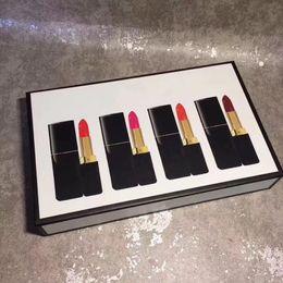 $enCountryForm.capitalKeyWord Australia - 2018 luxury Matte Liquid Lipsticks 4pcs=1 set Make up beauty Long lasting makeup lipgloss sets moisturizing lipsticks DHL Free Shipping