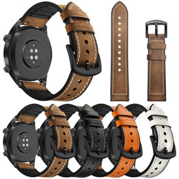 $enCountryForm.capitalKeyWord Canada - 22mm Luxury Leather watch strap Band for Samsung Gear S3 Frontier Classic strap for Huami Amazfit Stratos 2 2S smart Watch bracelet bands