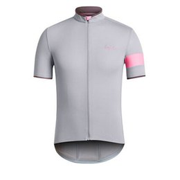Wholesale New men short sleeve RAPHA cycling jersey bike shirt Breathable bicycle sportswear factory direct sale cycling clothing K071019