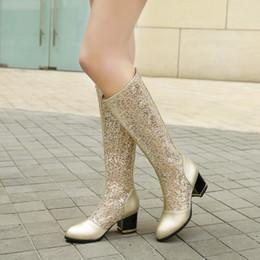 $enCountryForm.capitalKeyWord NZ - Lady sandal Womens High Heel boot 10 cm platform shoe cut out boot mesh over the knee boot gold white black shoe free ship