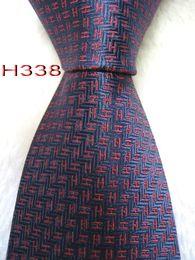 Beige Silk Tie Australia - Classical 100% JACQUARD WOVEN HANDMADE Mens Design Perfect Red Blue Multi color Style Men silk Tie Necktie #h338