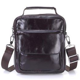 $enCountryForm.capitalKeyWord Australia - Genuine Leather Men's Bags Vintage Cow Leather Bag Brand Designer Crossbody Bag Men Messenger Bag 2019 Pt1204