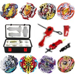 $enCountryForm.capitalKeyWord Australia - beyblade burst set with box launcher B73 B92 B100 B82 B100 B105 B97 B86 gold color hot sell christmas gift remodeling