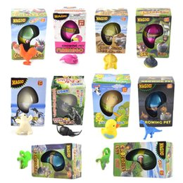 China Magic Hatching Dinosaur Other Toys Incubation Egg Growing in Water Pets Animal Egg Toy for Children Kids Gift suppliers