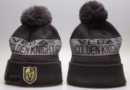 Military Green Army Beanies NZ - Sport Knit hat Vegas Golden Knights Beanie Football Sideline Cold Weather hat Fashion beanies winter Warm Knitted Wool Skull Cap 00