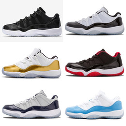 Wholesale 11 Prom Night Gym Red Midnight Navy Black Stingray Bred Concord  Space Jam Shoes 11s Mens Womens Kids Retro Basketball Sneaker 239cc8d89