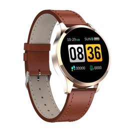 Wholesale Q9 Smart Watch Waterproof Message call reminder Smartwatch men Heart Rate monitor Fashion Fitness Tracker for iPhone Android Cell Phone