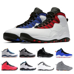 a50bd4a3f3a0 2019 10 Men Basketball Shoes Westbrook Im Back Cement Bobcats Grey Infrared  Chicago Cool Grey 10S Designer Sports Sneakers 8-13