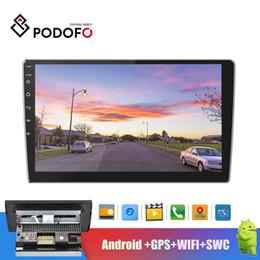 $enCountryForm.capitalKeyWord Australia - Podofo 2 Din Car Radio GPS Android Navigation Autoradio Stereo 10.1''HD 2.5D Tempered Glass Mirror Bluetooth WIFI FM Audio Radio