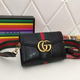 $enCountryForm.capitalKeyWord Australia - New French high-end brand ladies handbag fashion leather bag leather party travel women's striped handbag free shipping
