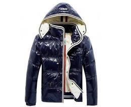 $enCountryForm.capitalKeyWord Australia - Fashion Men's Designer Jackets Winter Hoodies Duck Down Jacket Coat Thicken Warm Black Zipper Pockets Down Parkas