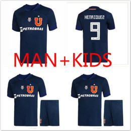 soccer jerseys chile NZ - 2020 2021 Club Universidad de Chile soccer jerseys kit 20 21 LSOTELDO Oroz HENRIQUEZ BEAUSEJOUR ECHEVERRIA CAMISETA man kids football shirt
