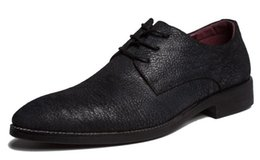 OxfOrd leather shOes fOr men online shopping - New Top grade leather men s dress shoes spring British trend pointed wedding shoes for men s casual wedding party shoeszapato de cuero f76