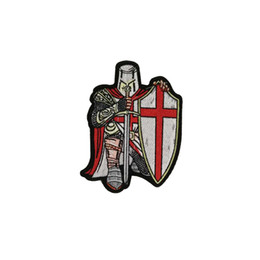 $enCountryForm.capitalKeyWord Australia - New Arrive Crusader Embroidery Patches Iron On Sew On Clothing Custom For MC Biker Men Jacket Decoration Applique