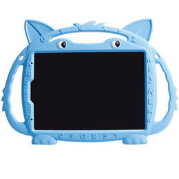 """$enCountryForm.capitalKeyWord Australia - Children Kids Shockproof Stand Protective Silicone Tablet Cover ABC Fox Bumper case for iPad Pro 11"""""""