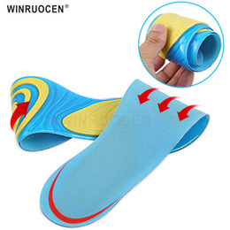 $enCountryForm.capitalKeyWord Australia - WINRUOCEN High Elastic Air Real Silicone Gel Insoles for Man Women Sports Running Shoe Soles Heel Spur Inner Shoes Pad