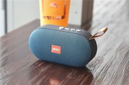 $enCountryForm.capitalKeyWord Australia - Wireless T7 Bluetooth speaker cloth art speakers Portable subwoofer Loud Stereo HIFI Sound mini audio Outdoor Speaker with TF card