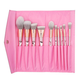 Hair accessories packaging online shopping - 2019 Beauty Face Makeup Brush Multipurpose Makeup Tool Accessories Premium Bare Brushs for Beginner Foundation Package