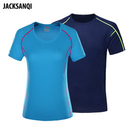 $enCountryForm.capitalKeyWord Australia - JACKSANQI Summer Men Women's Quick Dry Breathable T-shirts Outdoor Camping Trekking Fishing Running Sports Couple models RA203