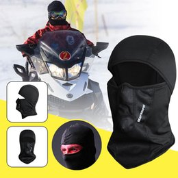 $enCountryForm.capitalKeyWord Australia - Riding Mask Outdoor Motorbike Unisex Black Comfortable Flexible Warm Protector Protective Gear Sports Face Guard