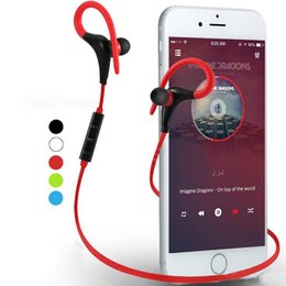 $enCountryForm.capitalKeyWord Australia - Bluetooth Headphones Sport Wireless Headset Hook Stereo Music Player Neckband Earphones Jogging Headphones For Iphone 7 With Retail Box