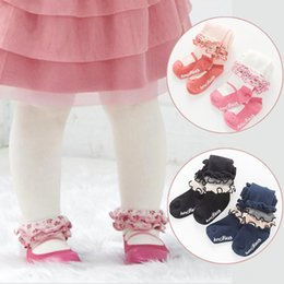 tutu cute dance NZ - Cute Girl Lace Baby Meisje Pantyhose Princess Dancing Tights Winter Spring Cotton Pants Baby & Kids Clothing Toddler Infant Tights Stocking