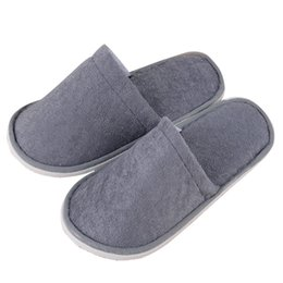 Disposable Shoe Slippers Australia - New Disposable Slippers 100 Pairs Adult Shoe Thick Casual Shoes Air Travel Sandals Home Guest Non-slip Slippers One-time Hotel Babouche