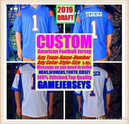 $enCountryForm.capitalKeyWord NZ - Custom american football jerseys Cincinnati Miami college authentic retro rugby soccer baseball basketball hockey jersey 4xl 5xl 6xl brown